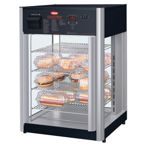 Hatco FDWD-1X Flav-R-Fresh Humidified Impulse Hot Food Display Cabinet With 4 Shelf Stationary Rack at Sears.com