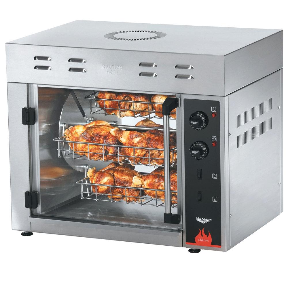Vollrath 40704 Countertop Rotisserie Oven - 208/240V