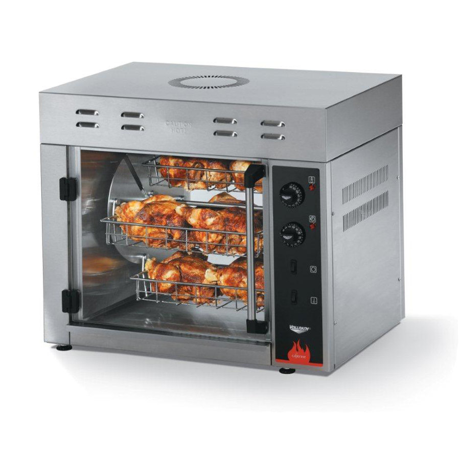 Countertop Rotisserie Oven Reviews : Vollrath 40704 Countertop Rotisserie Oven 220V