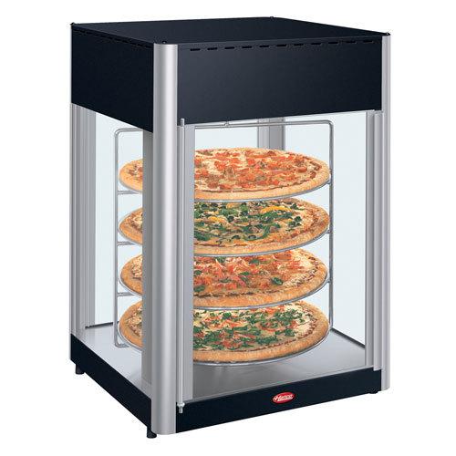 Hatco FDWD-2 Flav-R-Fresh 2 Door Humidified Impulse Hot Food Display Cabinet With 4 Tier Circle Rack at Sears.com