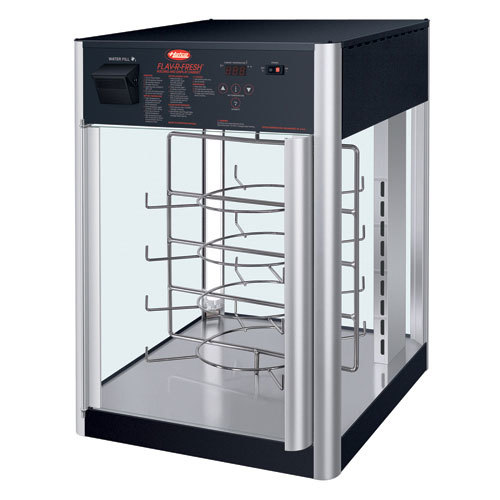 Hatco FDWD-1 Flav-R-Fresh Humidified Impulse Pizza / Hot Food Display Cabinet With 4 Tier Circle Rack at Sears.com