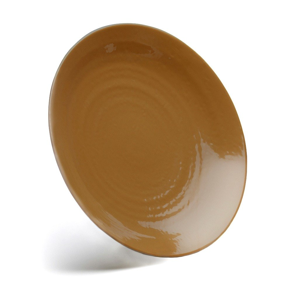 "Elite Global Solutions D10RR Pebble Creek Tapenade-Colored 10"" Round Plate at Sears.com"