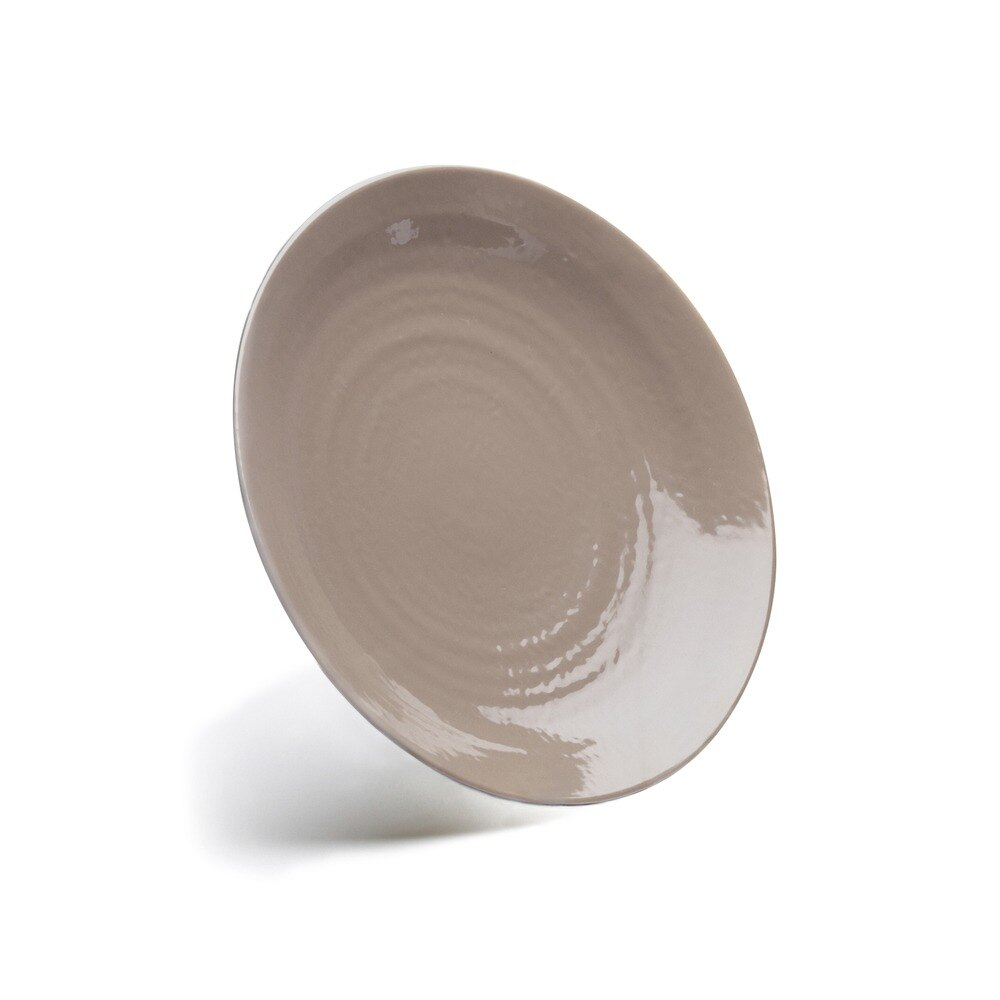 "Elite Global Solutions D814RR Pebble Creek Mushroom-Colored 8 1/4"" Round Plate at Sears.com"
