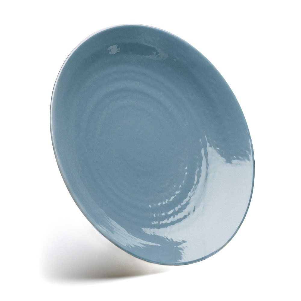 "Elite Global Solutions D10RR Pebble Creek Abyss-Colored 10"" Round Plate at Sears.com"