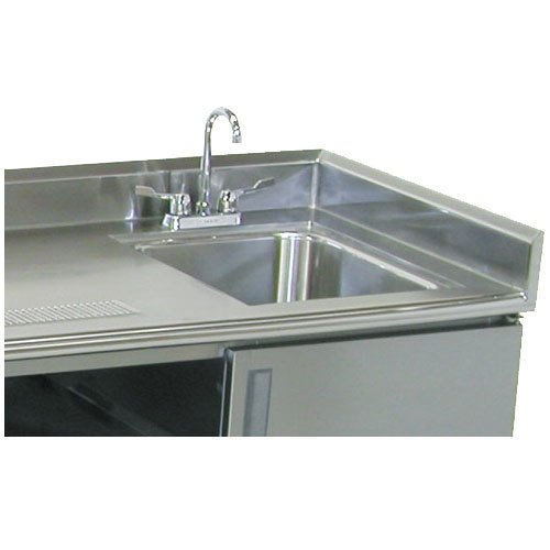 "Advance Tabco TA-31 5"" Side Splash for Table Tops"