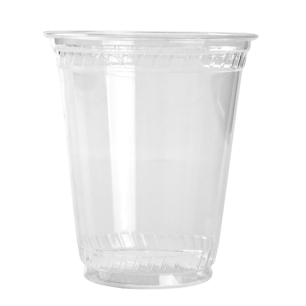 Fabri-Kal Greenware GC7 7 oz. Clear Plastic Compostable Cold Cup 50 / Pack