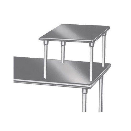 "Advance Tabco MST-24-24 Table Mounted 24"" x 24"" Equipment Shelf"