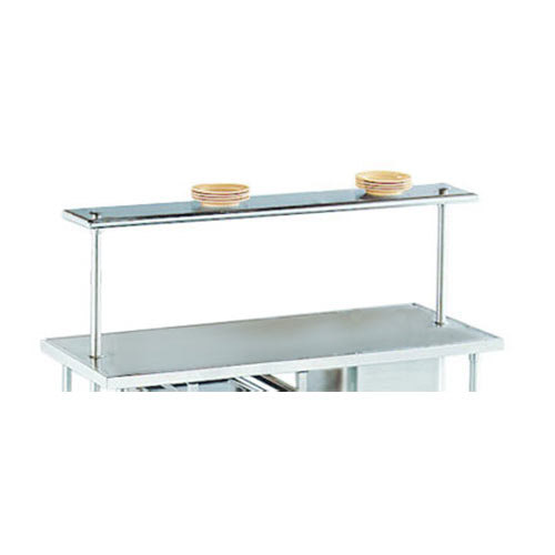 "Advance Tabco PT-18-144 Smart Fabrication 18"" x 144"" Middle Mount Stainless Steel Shelf"