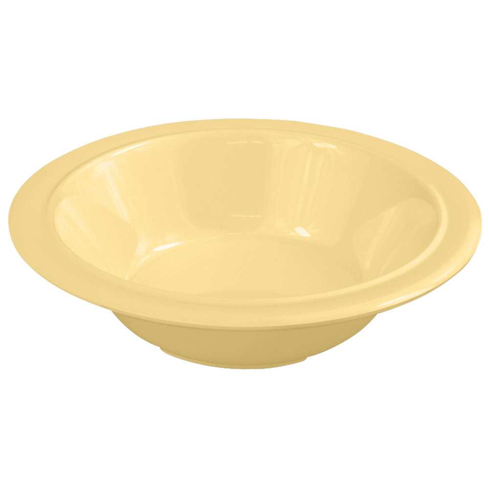 Nustone Tan Melamine Soup and Cereal Bowl 12 oz. - 12/Pack