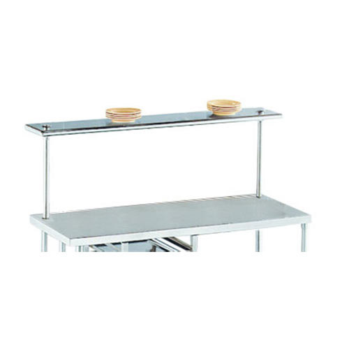"Advance Tabco PT-12R-132 Smart Fabrication 12"" x 132"" Rear Mount Stainless Steel Shelf"