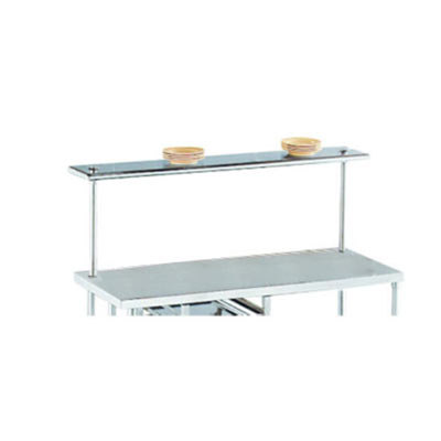 "Advance Tabco PT-15R-132 Smart Fabrication 15"" x 132"" Rear Mount Stainless Steel Shelf"