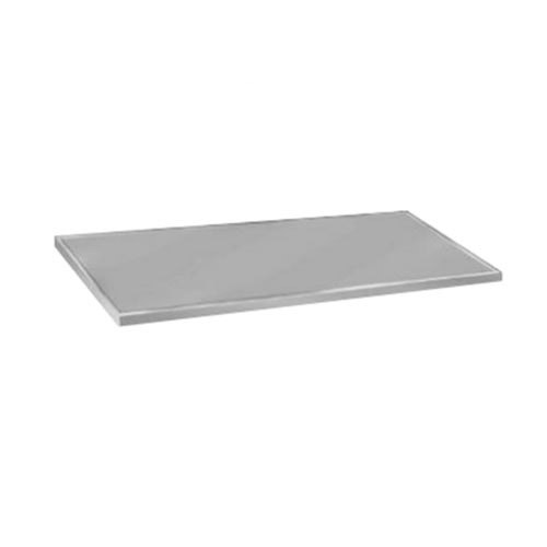 "Advance Tabco VCTC-248 25"" x 96"" Flat Top Stainless Steel Countertop"