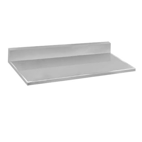Advance tabco vkct 304 30 x 48 stainless steel for Stainless steel countertops cost per sq ft