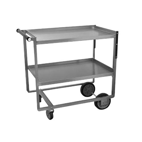 """Advance Tabco UCS-1 Stainless Steel 2 Shelf Utility Cart - 21"""" x 39 1/2"""" x 35 1/4"""" at Sears.com"""