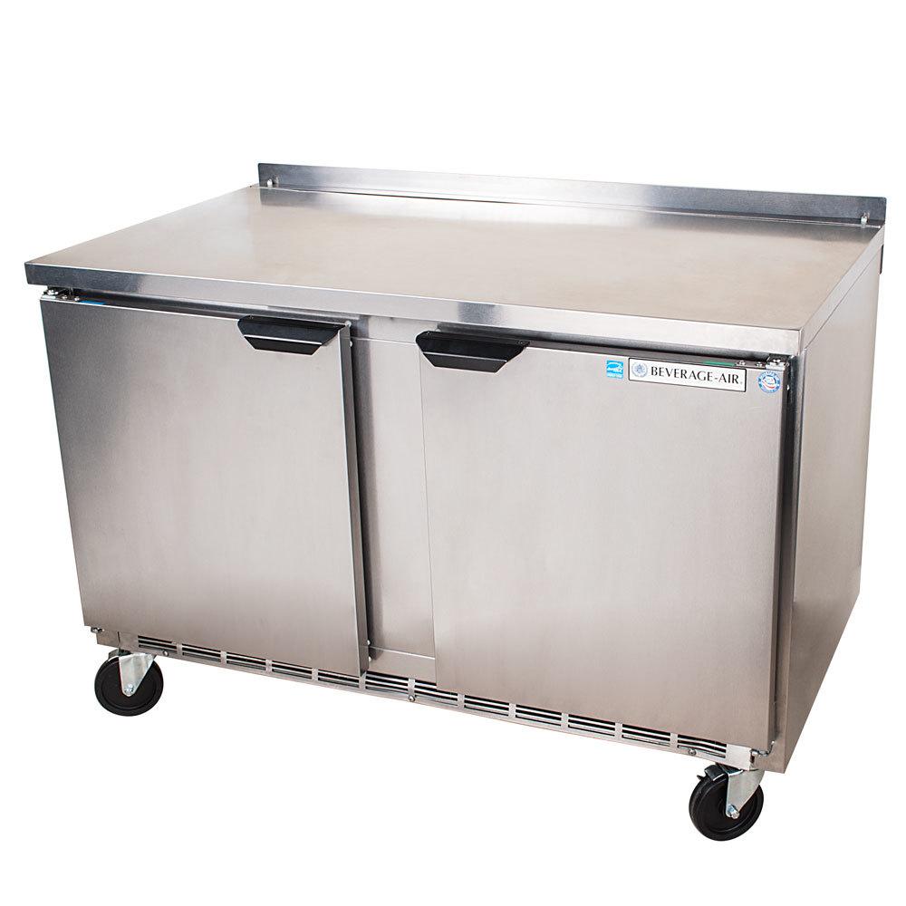 "Beverage Air (Bev Air) WTRF50A 50"" Dual Temp Work Top Refrigerator / Freezer - 14.6 Cu. Ft. at Sears.com"