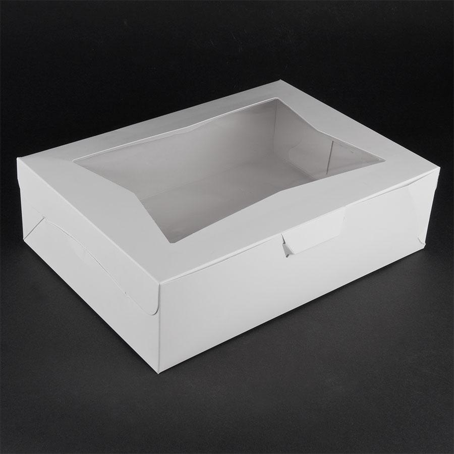 Window Cake / Bakery Box 14 inch x 10 inch x 4 inch 10 / Pack