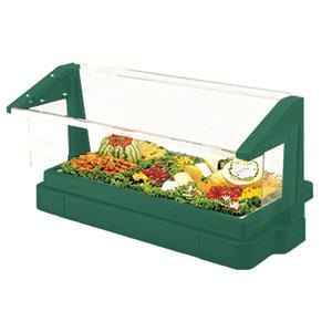 Cambro BBR720519 Green 6' Buffet / Salad Bar with Sneeze Guard