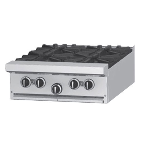 "Garland / US Range Natural Gas Garland G24-4T 4 Burner Modular Top 24"" Gas Range - 132,000 BTU at Sears.com"