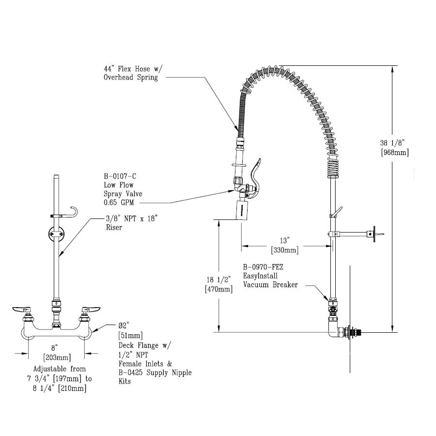 Kitchen Faucet U Bracket: Wall Mount Kitchen Faucet From Sears.com