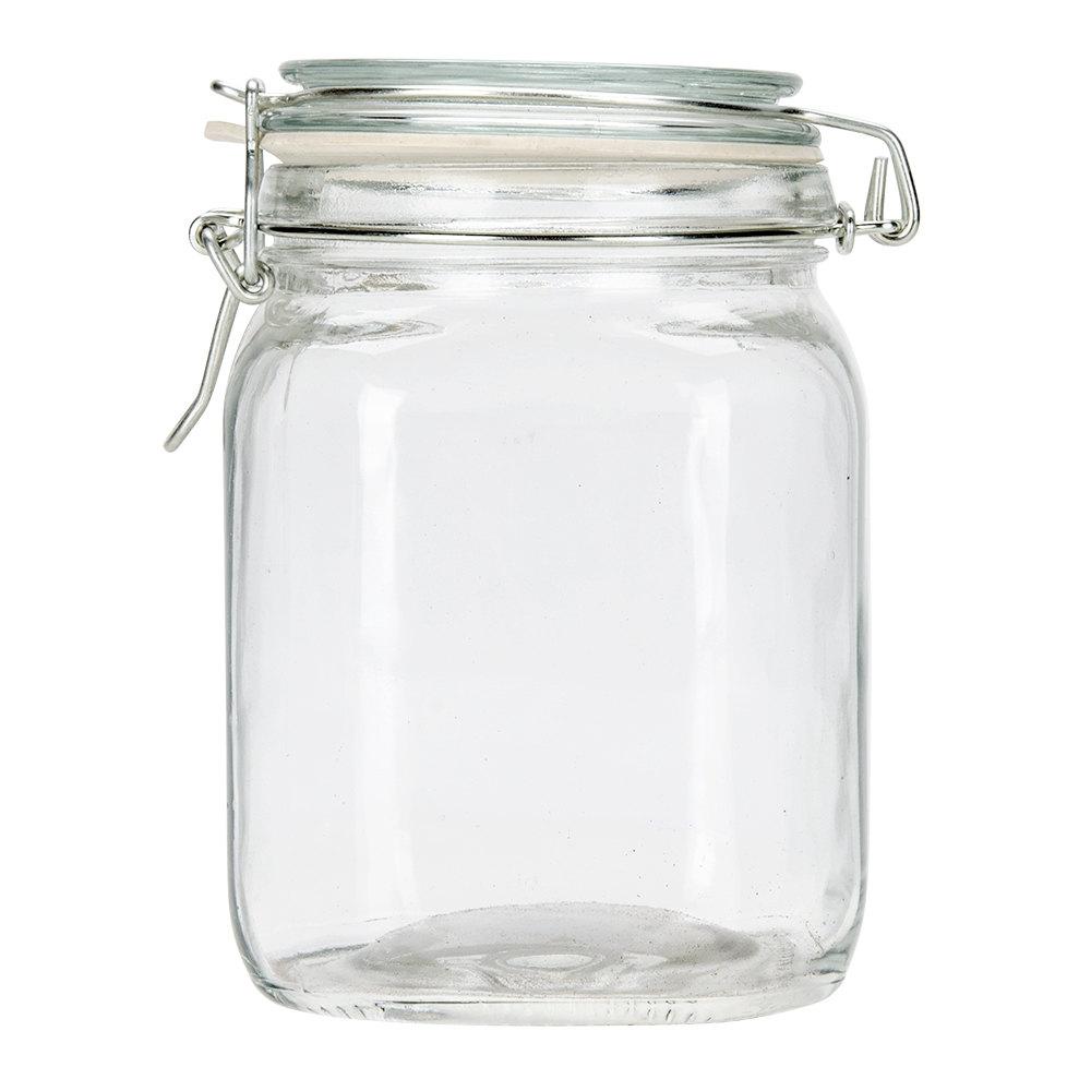 Anchor Hocking Glass Jars Heremes Jar · Anchor Hocking