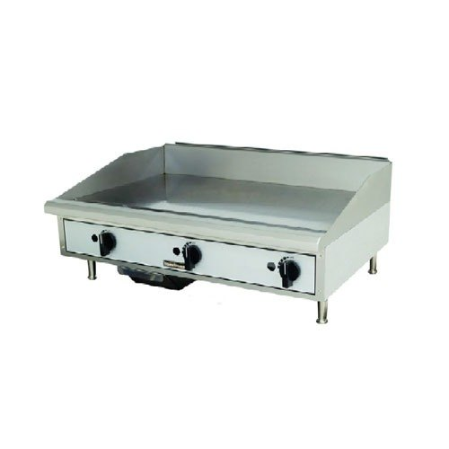 "Toastmaster TMGM48 48"" Gas Countertop Griddle - Manual Controls"
