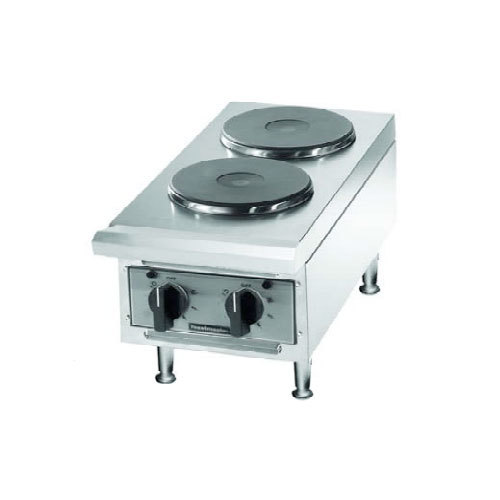 Toastmaster 208V Single Phase Toastmaster TMHPF Electric 2 Burner Countertop Hot Plate - Ceramic Elements at Sears.com