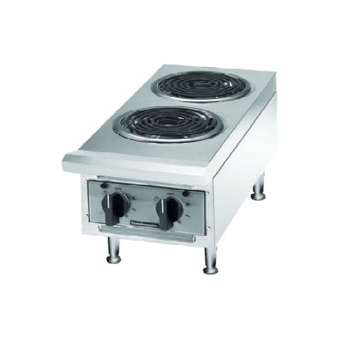 Toastmaster 208V Single Phase Toastmaster TMHPE Electric 2 Burner Countertop Hot Plate - Coil Elements at Sears.com