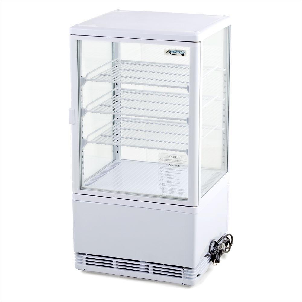 Avantco Fsg 3 Four Sided Glass Countertop Beverage Cooler