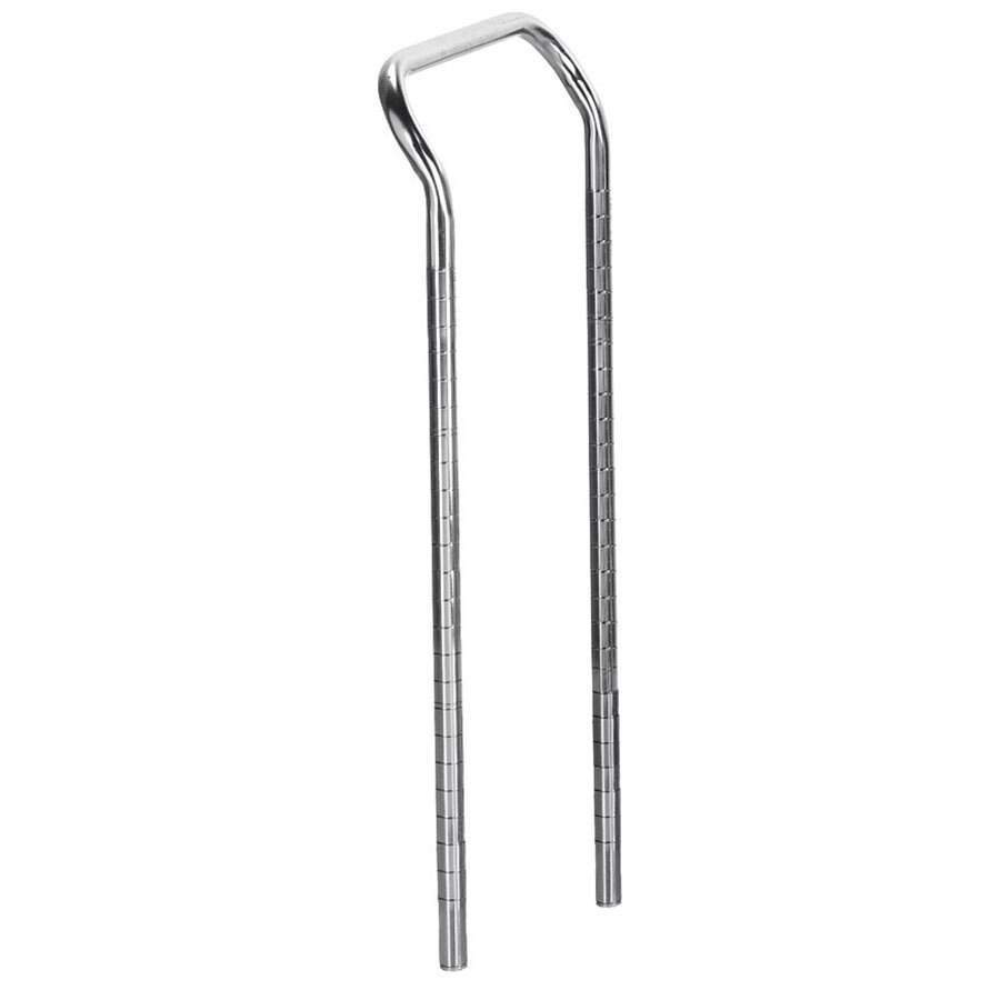 """Advance Tabco UCH-18 18"""" Utility Cart Handle with 34"""" Tubular Numbered Posts at Sears.com"""
