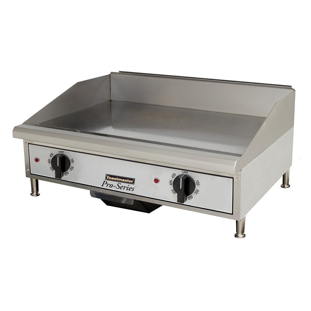 Countertop Griddle : 240V, 1 Phase Toastmaster TMGE24 24