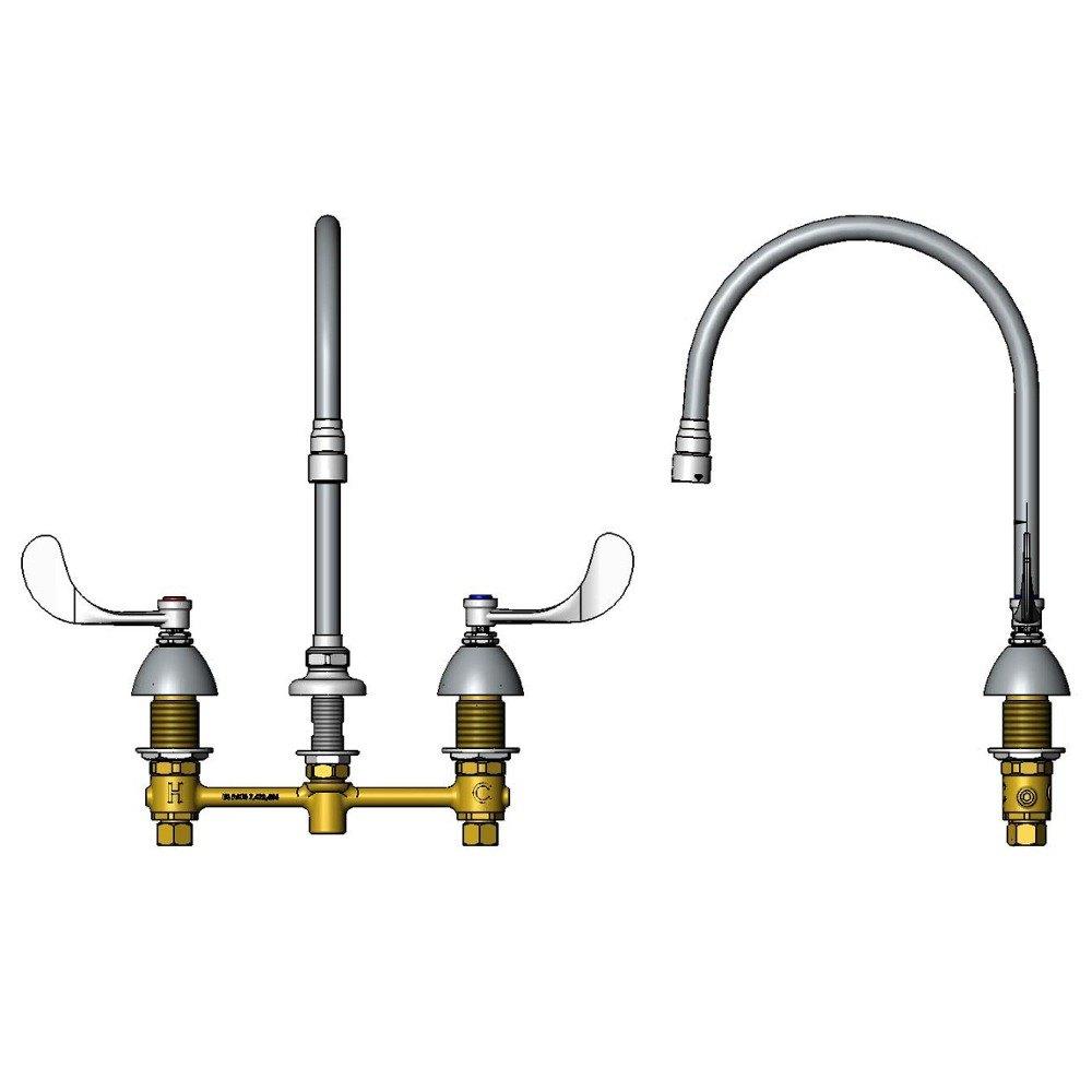 moen 87499srs moen harlon deck mount kitchen faucet spot