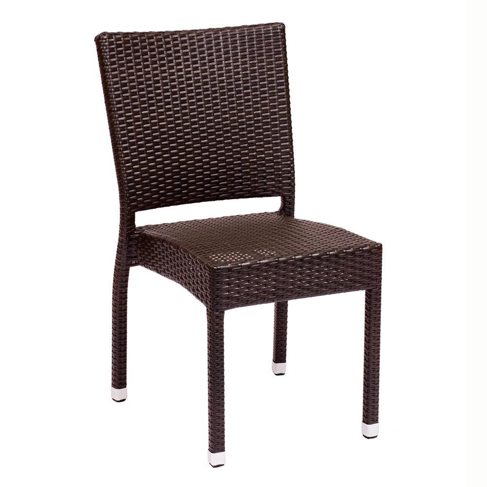 BFM Seating Monterey PH500CJV Stackable Outdoor Wicker Chair