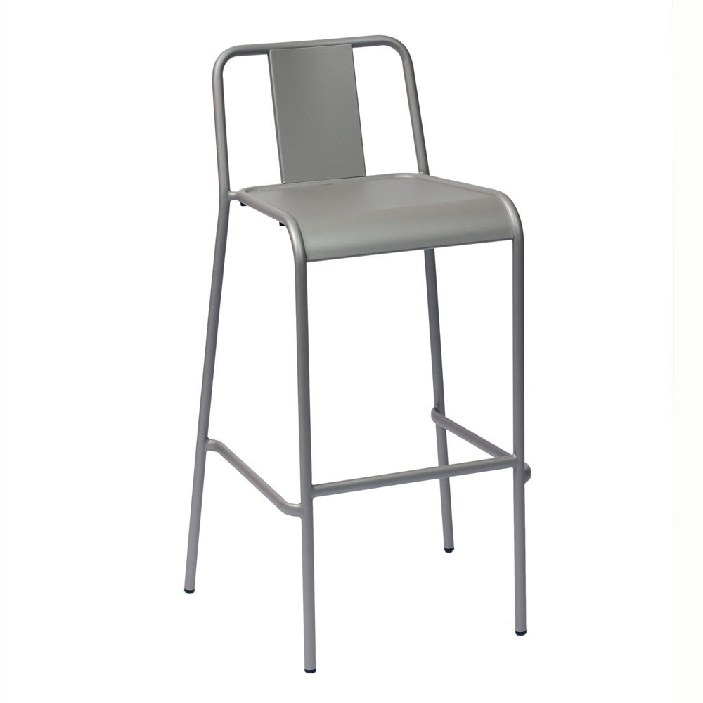 BFM Seating Tara X DV380TS Stackable Outdoor Bar Height Chair at Sears.com