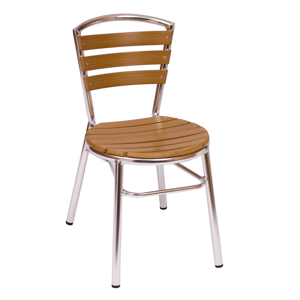 bfm seating ms308stkal norden stackable outdoor chair