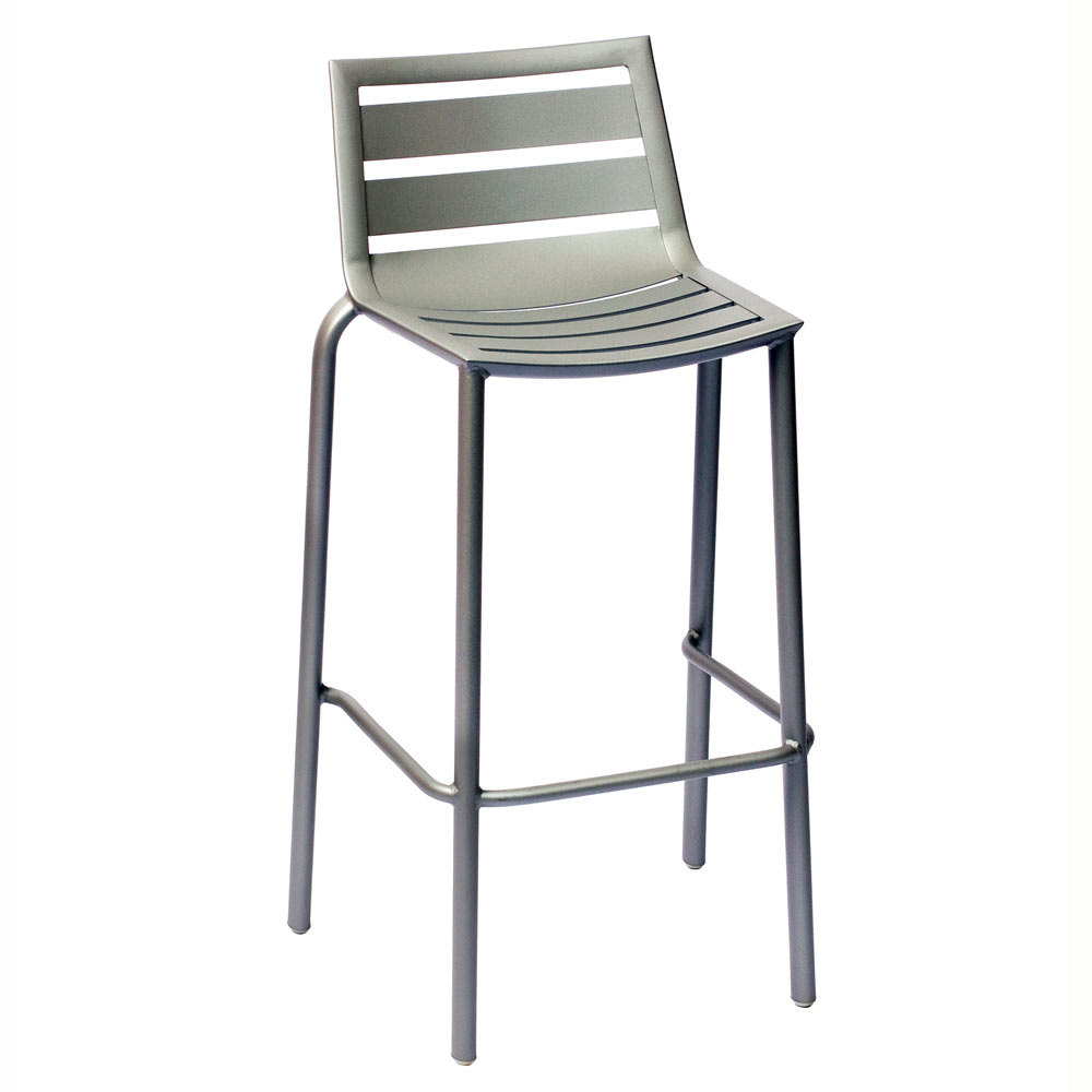 BFM Seating South Beach DV550TS Stackable Outdoor Aluminum Bar Height Chair at Sears.com