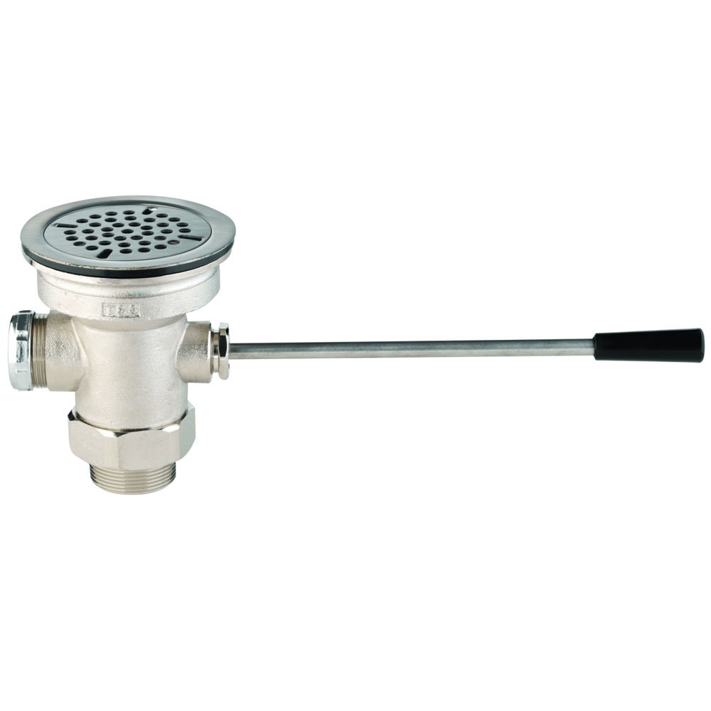 Sink Valve : 3960-XS Waste Drain Valve with Lever Handle and 3