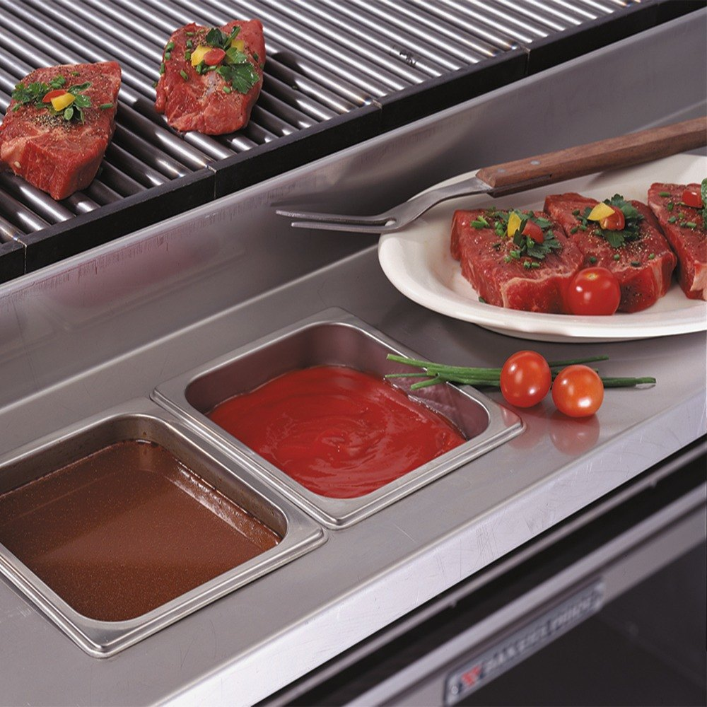 "Bakers Pride SSWDK1230 12"" Stainless Steel Work Deck for L/C/F-30R or L/C/F-30GS Dante Series Countertop Charbroilers at Sears.com"
