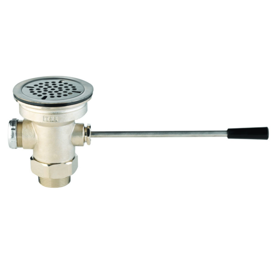 Restaurant Sink Faucet Parts : ... -XS Waste Drain Valve with Short Lever Handle and 3 1/2