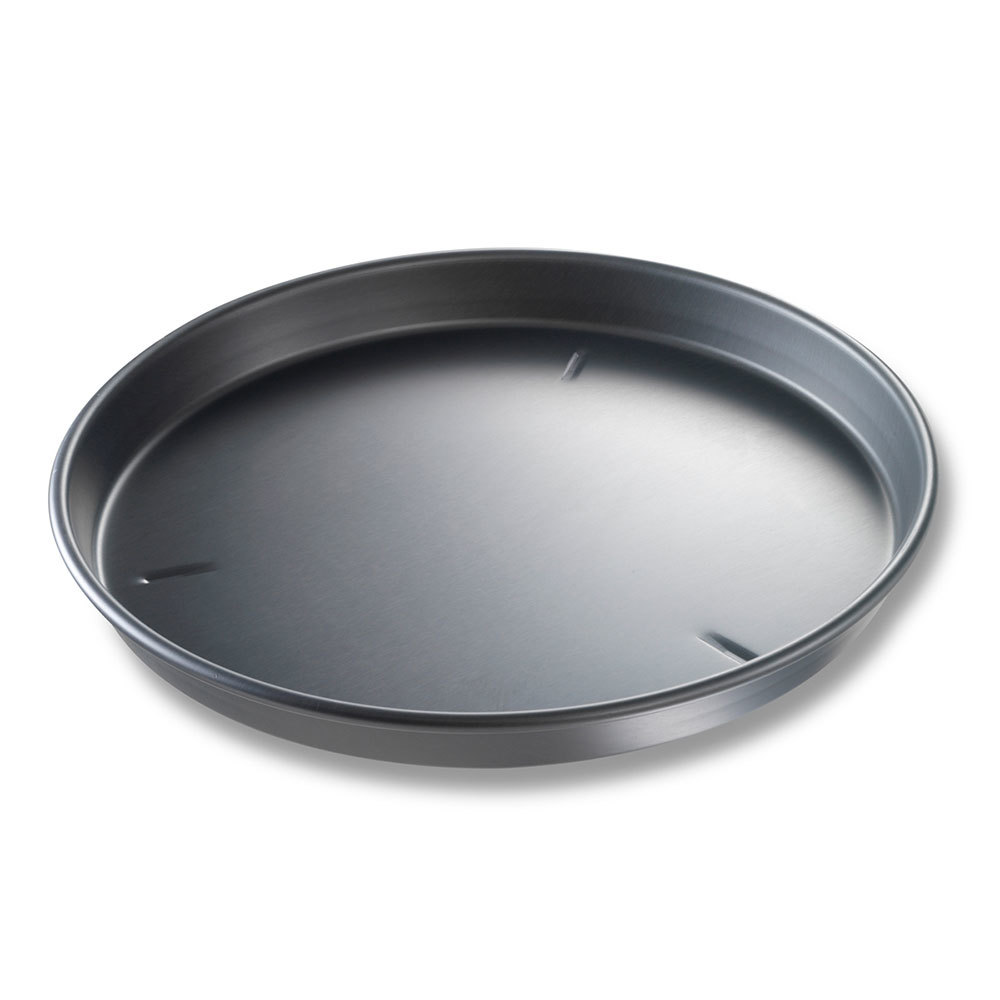 "Chicago Metallic 91165 16"" x 1 1/2"" BAKALON Pre-Seasoned Aluminum Deep Dish Pizza Pan at Sears.com"