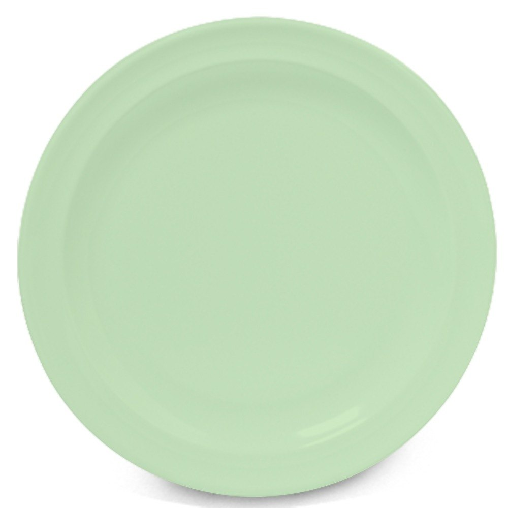 "GET DP-509-G Green 9"" SuperMel Plate - 24/Case"