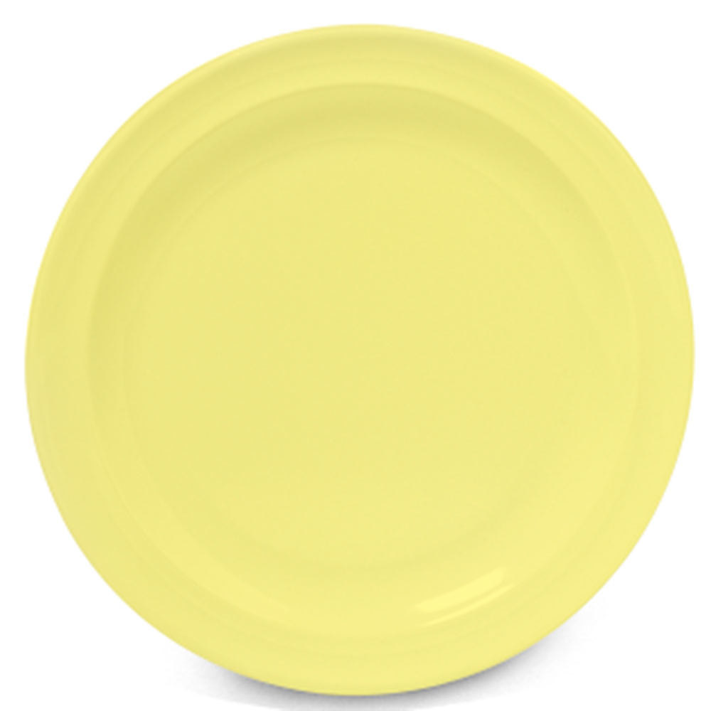 "GET DP-509-Y Yellow 9"" SuperMel Plate - 24 / Case"