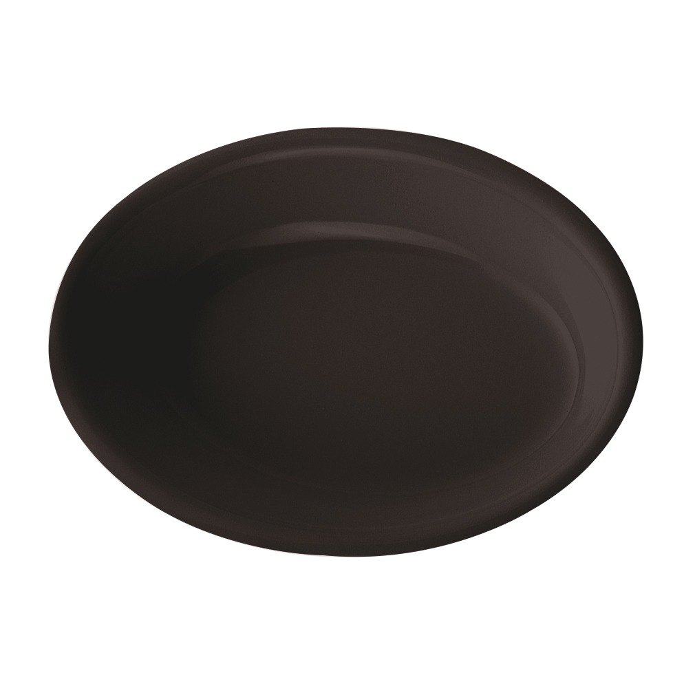 GET DN-365-BK Black 5 oz. SuperMel Side Dish - 48/ Case