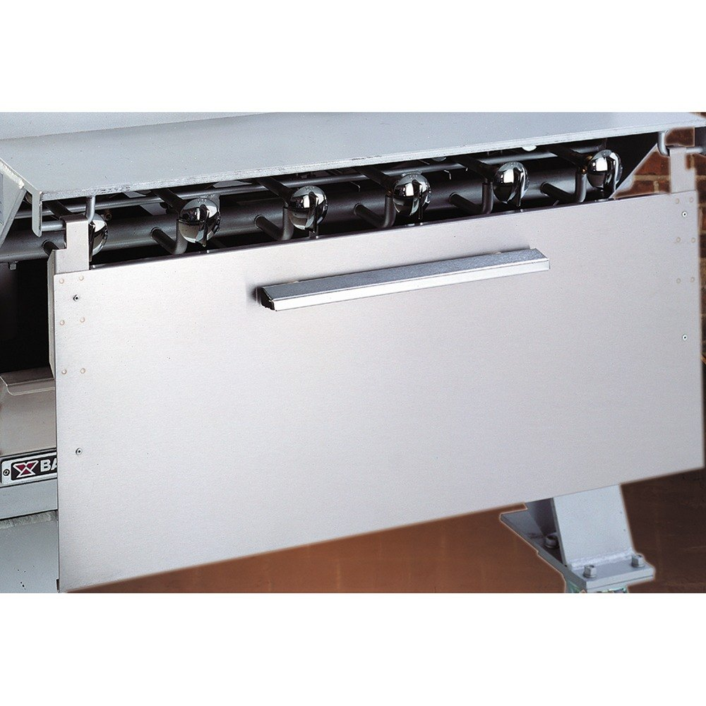 Heat Shields For Kitchen Cabinets: Bakers Pride T3079V Dante Series Stainless Steel Heat Shield
