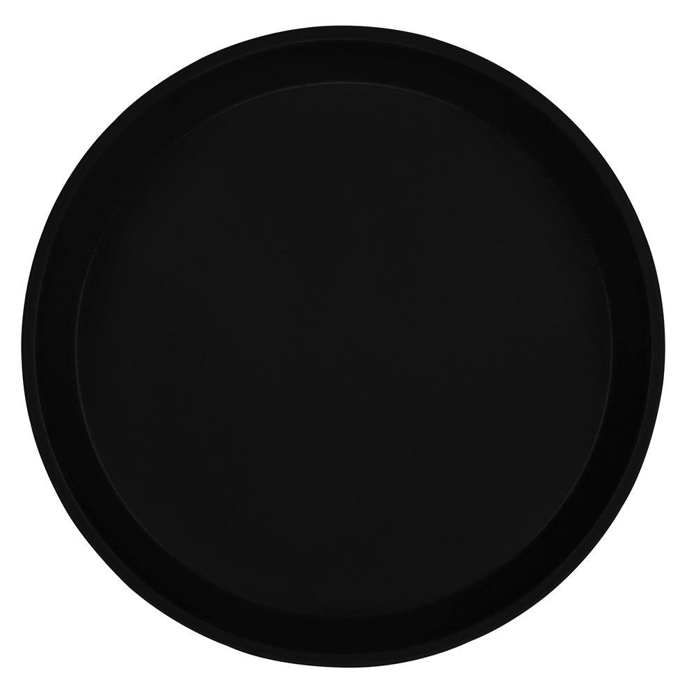 Cambro 900110 9 Round Black Fiberglass Camtray  12 / Case