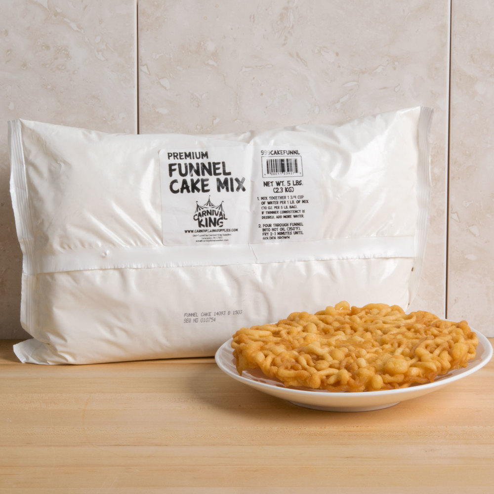 Funnel Cake Mix Just Add Water