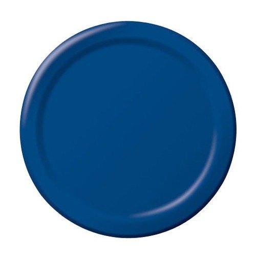 creative converting 471137b 9 navy blue paper plate 240 case. Black Bedroom Furniture Sets. Home Design Ideas