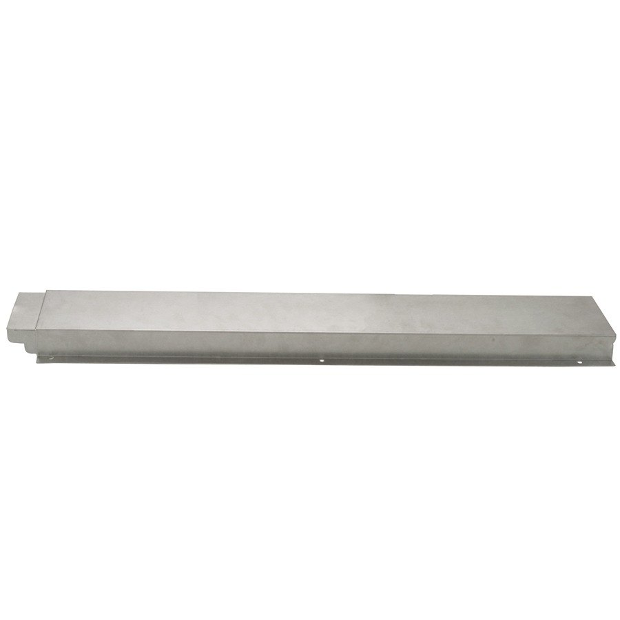 APW Wyott 32010521 Solid Stainless Steel Flat Tray Slide for Exposed 2 Well Champion Series Steam Tables