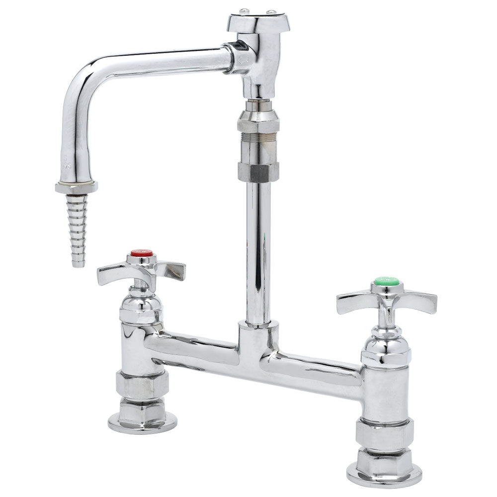 T Amp S Bl 5715 09 Deck Mount Mixing Faucet With 8 Quot Adjustable