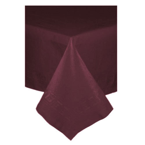 Buffet table skirting style - 54 Quot X 54 Quot Burgundy Tissue Poly Tablecover 50 Case