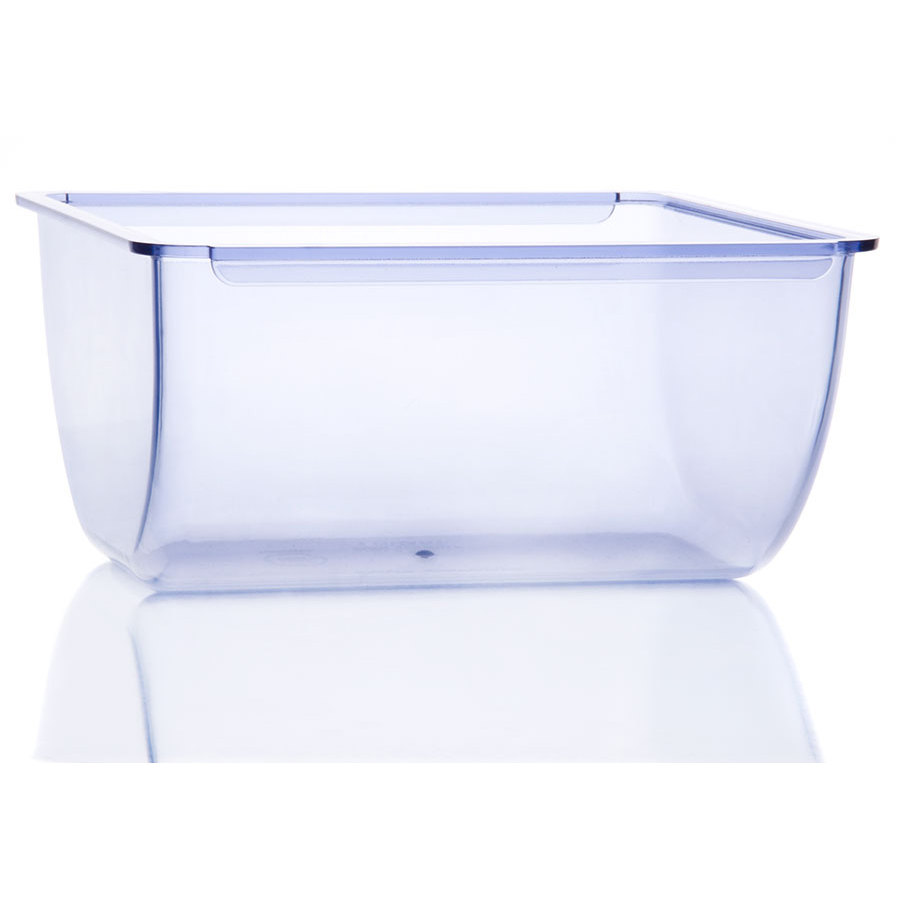 San Jamar BD106 Clear 1 qt. Replacement Tray for San Jamar Dome - NSF